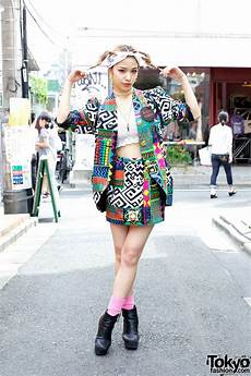japanese model una w vintage fashion cute hairstyle in