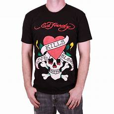 Ed Hardy Shirt - ed hardy black mens kills slowly graphic shirt ebay