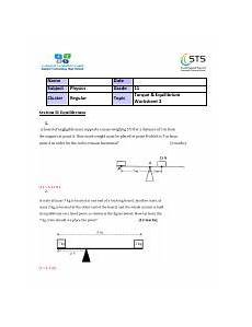 answers g11 torque worksheet 2 pdf name subject physics