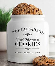 Personalised Kitchen Jars by Fresh Cookies Personalized Cookie Jar 4 H