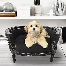 baroque sofa bed for or cat black and black wood