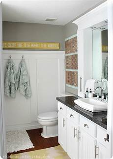 small master bathroom remodel with stylish affordable countertop storage