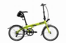 mini folding bike der neue mini zum falten knallgelbes