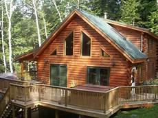 fertig holzhaus kaufen lakefront luxury log cabin with outdoor tub