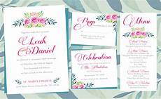 Wedding Invitations Layout Design floral wedding invitations printing by