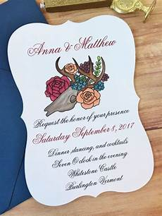 wedding invitations burlington floral and bone wedding invitations by fancypaperie7 on