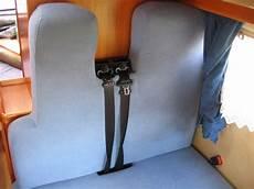 wohnmobil sitzbank selber bauen hobby 600 ein wohnmobil ist kult tip dreipunktgurte