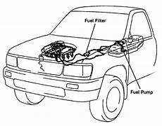 2009 Tacoma Fuel Filter Location by 03 Toyota Tacoma Fuel Filter