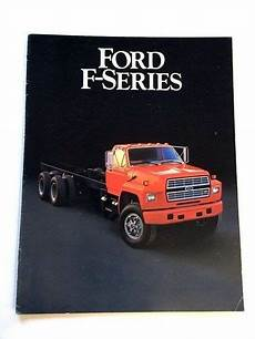 electric and cars manual 1985 ford f series parental controls 1985 ford f series f 700 f 800 truck original 16 page sales brochure catalog ebay