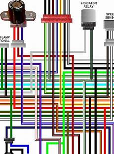honda cb125tde superdream colour wiring diagram honda vtx1300s 2003 05 uk spec colour motorcycle wiring diagram