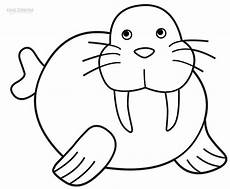 walrus coloring sheet printable walrus coloring pages for kids cool2bkids