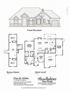 rambler house plans with bonus room r 1894a how to plan house design bonus room