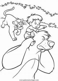 Dschungelbuch Malvorlagen Quest Dschungelbuch053 Gratis Malvorlage In Comic