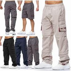 3 4 Arbeitshosen Herren - herren cargo hose zip 3 4 shorts teilbar