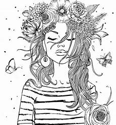 adult coloring pages girls pin by monica markin on coloring pages adult coloring