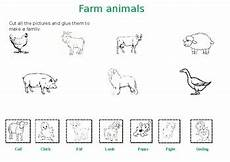 animals and their worksheets 14100 prek kg worksheet farms animals with their babies by ms d classroom
