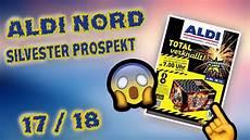 Aldi Nord Silvester Feuerwerks Prospekt 2017 2018