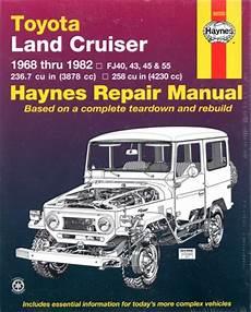 vehicle repair manual 2011 toyota fj cruiser engine control toyota landcruiser petrol fj series repair manual 1968 1982 new sagin workshop car manuals