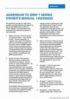 online car repair manuals free 1995 bmw 7 series navigation system bmw 7 series 2014 f02 owner s manual 265 pages