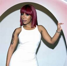 k michelle plum pink raspberry red burgundy bob hair