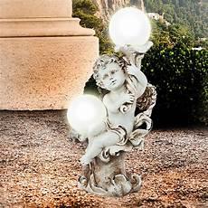 solarleuchte solarle engel gartendeko solar figur grab