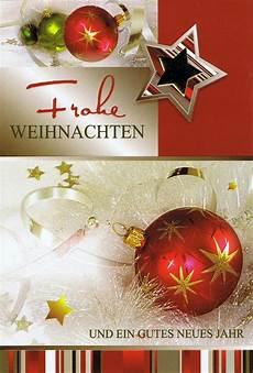 weihnachtskarte motiv weihnachtskugeln und sterne gold
