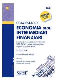 economia degli intermediari finanziari dispense compendio di economia degli intermediari finanziari 38 2