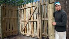 How To Build A Fence Gate Mount Trick