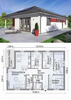 bungalow haus mit walmdach architektur 5 zimmer