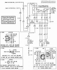 1973 ford f 150 wiring diagram 1973 1979 ford truck wiring diagrams schematics fordification net
