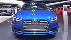 audi s4 avant 3 0 tfsi quattro tiptronic 354 hp 2017 exterior and interior youtube
