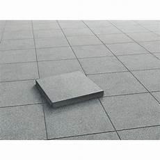 terrassenplatte beton anthrazit geschliffen 40 cm x 40 cm