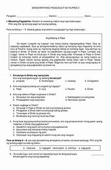 panghalip pamatlig worksheets philippin news collections
