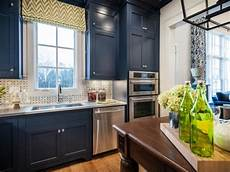 Kitchen Paint Colors Blue by Colorful Painted Kitchen Cabinet Ideas Hgtv S Decorating