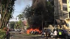 Kronologi Rentetan Ledakan Bom Di Tiga Gereja Surabaya