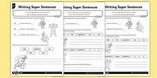 writing sentences activities worksheets 22110 writing sentences differentiated worksheet