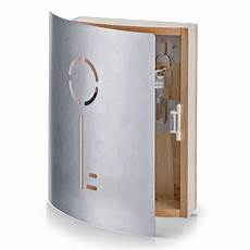 armadietto portachiavi cassetta per le chiavi legno acciaio inox box armadietto