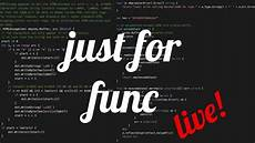 justforfunclive advent of code days 1 3