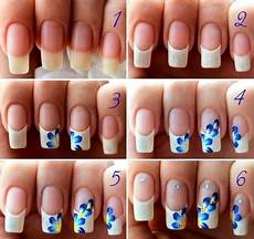 simple and easy step by step nail art design tutorials of