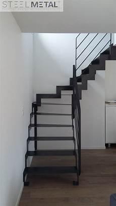 Escalier Quart Tournant En M 233 Tal Bois Fabrication Sur