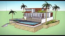 exemple maison moderne maison moderne sketchup session 1