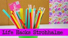 Basteln Mit Strohhalmen - hacks top 5 strohhalme straws tipps und tricks