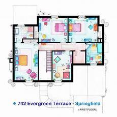 the simpsons house floor plan sherlock s flat floor plan google search con im 225 genes