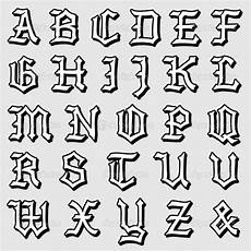 alfabeto gotico lettere doodle vector de um alfabeto g 243 tico completo ilustra 231 227 o
