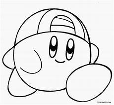 printable kirby coloring pages for