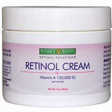 crema con 2 tuorli nature s bounty retinol cream 2 oz 56 g iherb