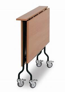 klappbarer tisch mit rollen klapptisch rolltisch fintabo de