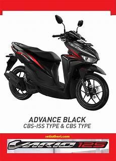Variasi Vario 2018 by Pilihan Warna Merah Hitam Honda Vario 125 Tahun 2018