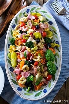 Tortellini Salat Rezept - italian tortellini salad a family feast
