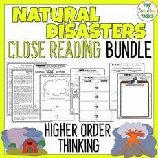 nature reading comprehension worksheets 15108 disasters reading comprehension passages and questions distance learning reading